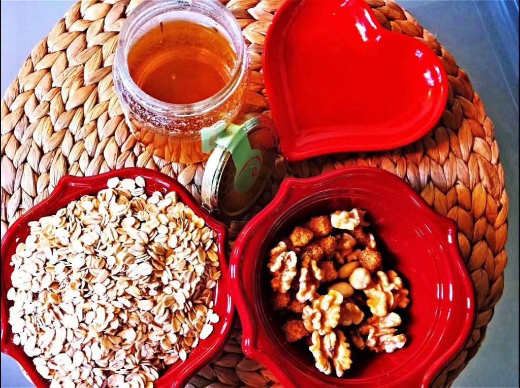 ingredienti granola