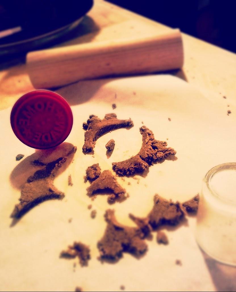 Biscotti farro miele e cannella