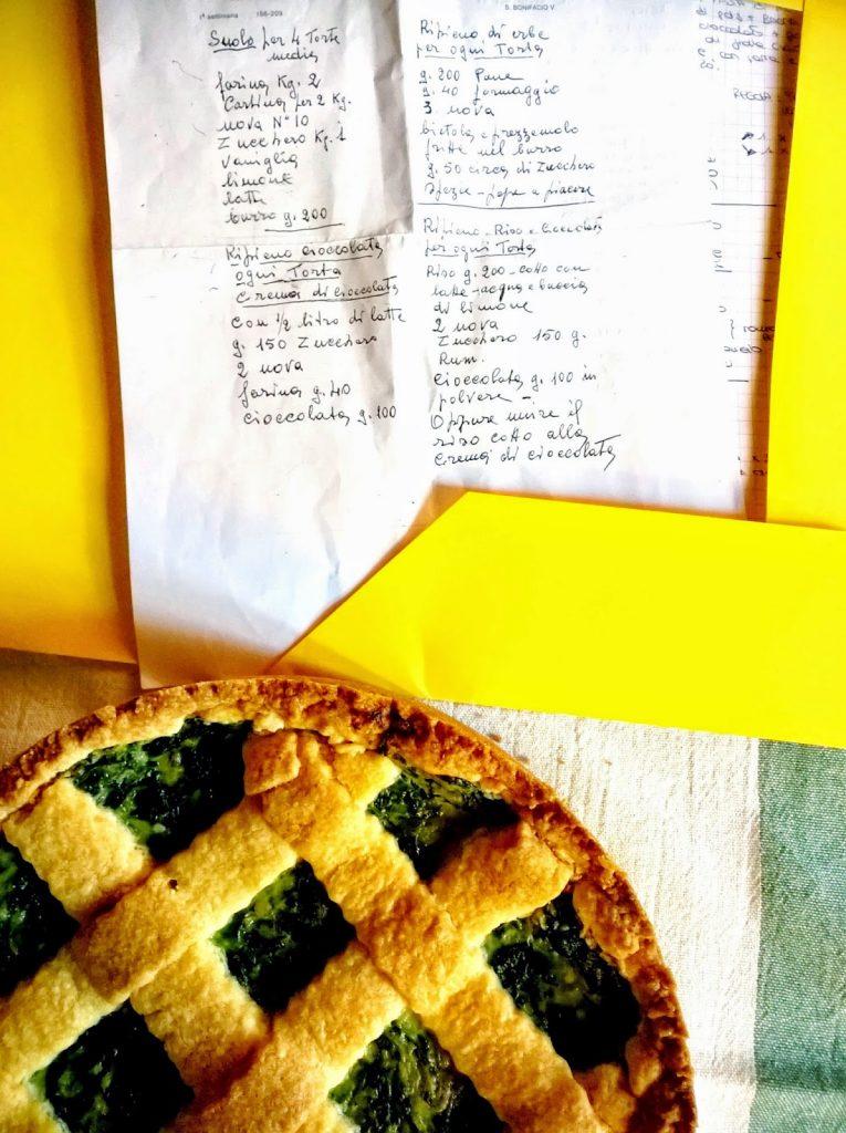 ricetta torta di verdure