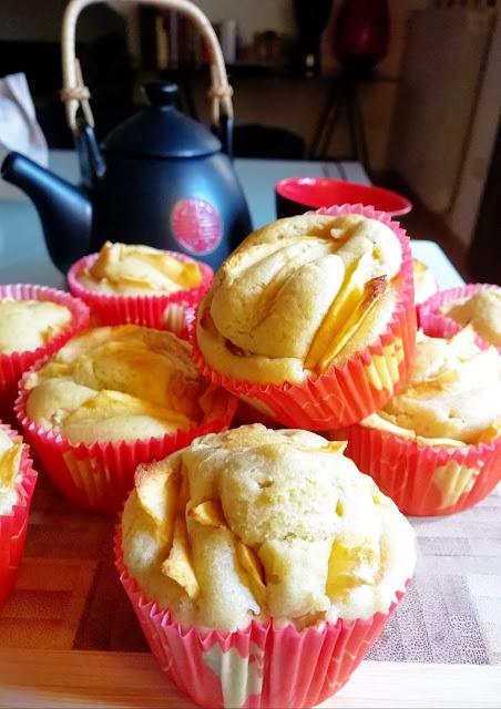 muffin light mele e cannella