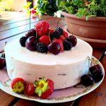 Cheese cake ai frutti rossi… senza cottura!