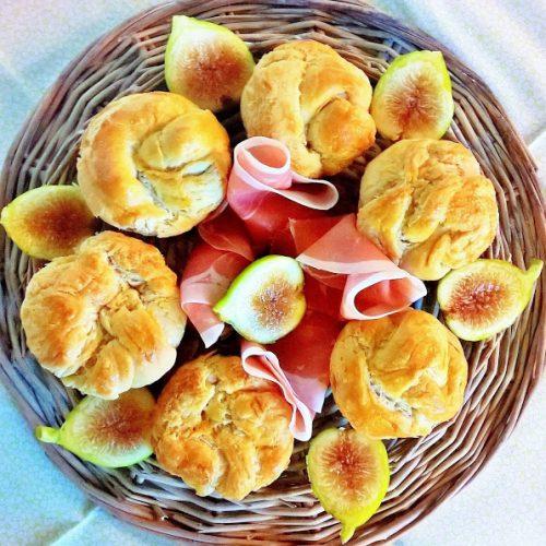 Cruffin prosciutto e fichi