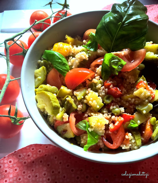 cous cous integrale vegetariano