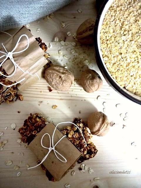 barrette germe di grano noci e datteri