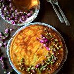 Torta persiana all'acqua di rose, pistacchi e mandorle – Re-cake #14