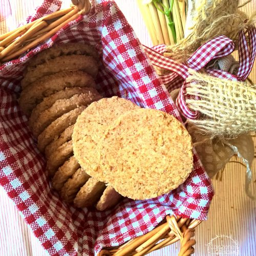 biscotti vegan all'avena