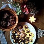 Mendiants & cioccolatini mandorle e fondente