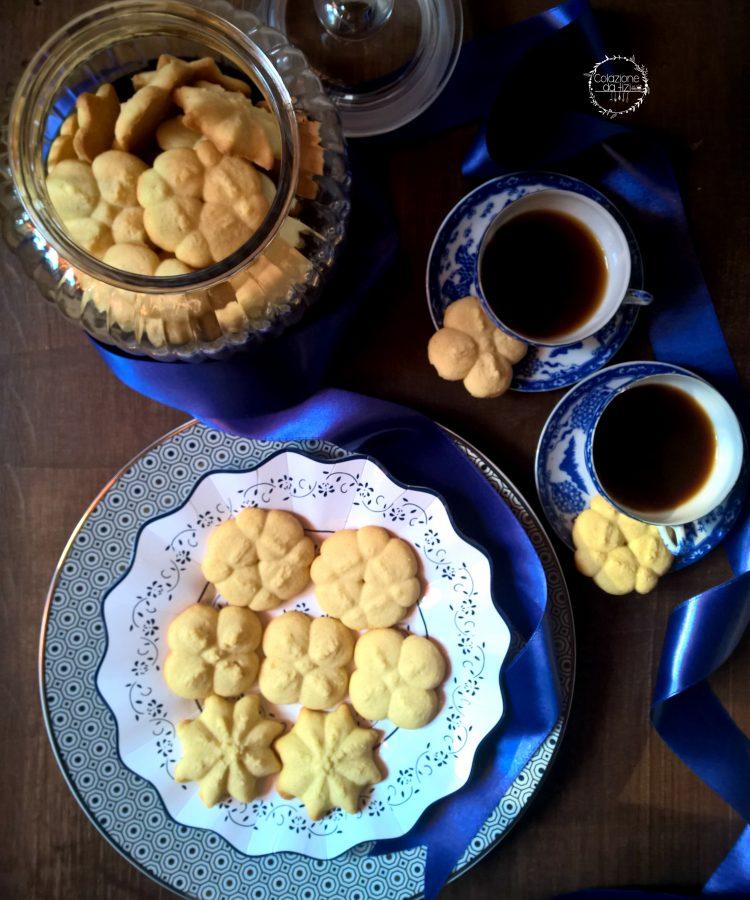 biscotti frolla montata con sparabiscotti