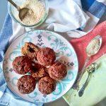 Muffin ai cereali, crusca d'avena e semi