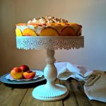 Cheese cake meringata alla pesca & arancia