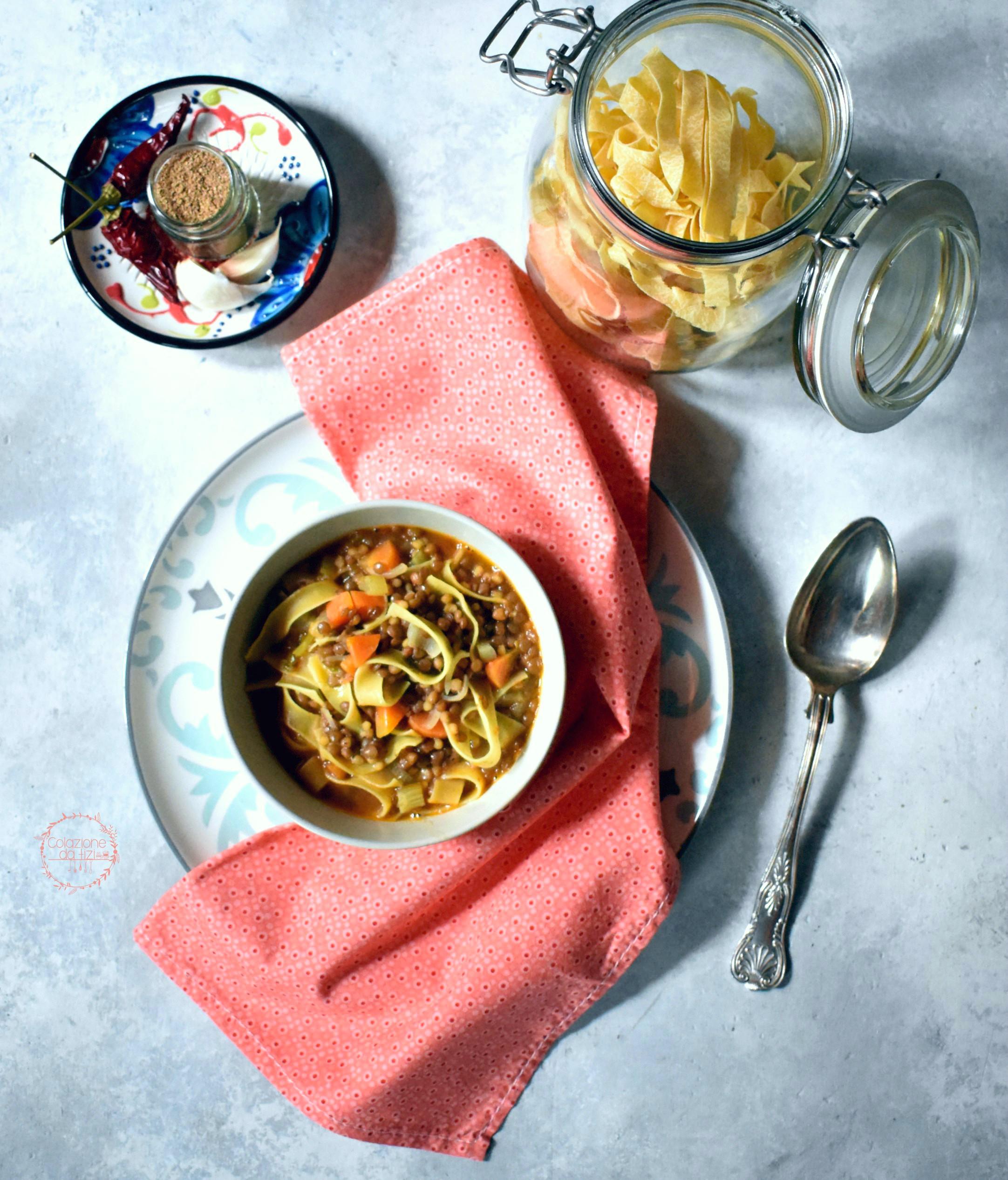 minestra lenticchie speziata