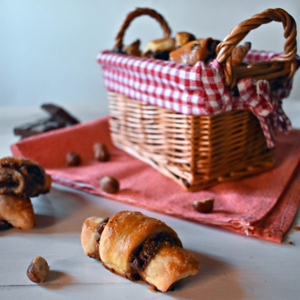 rugelach cioccolato e nocciole