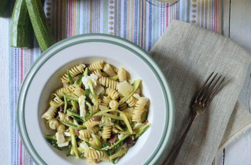 insalata di pasta limone e zucchine