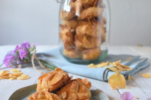 Biscotti ai cornflakes (con burro chiarificato)