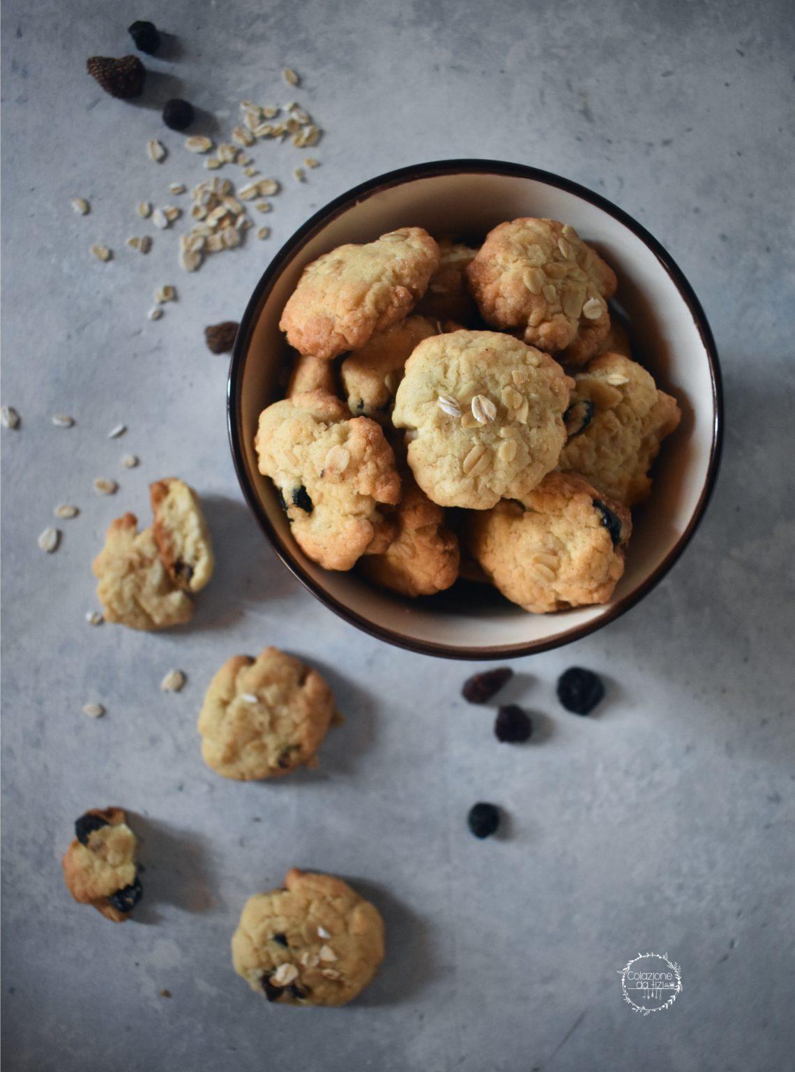 vegan cookies ai frutti rossi