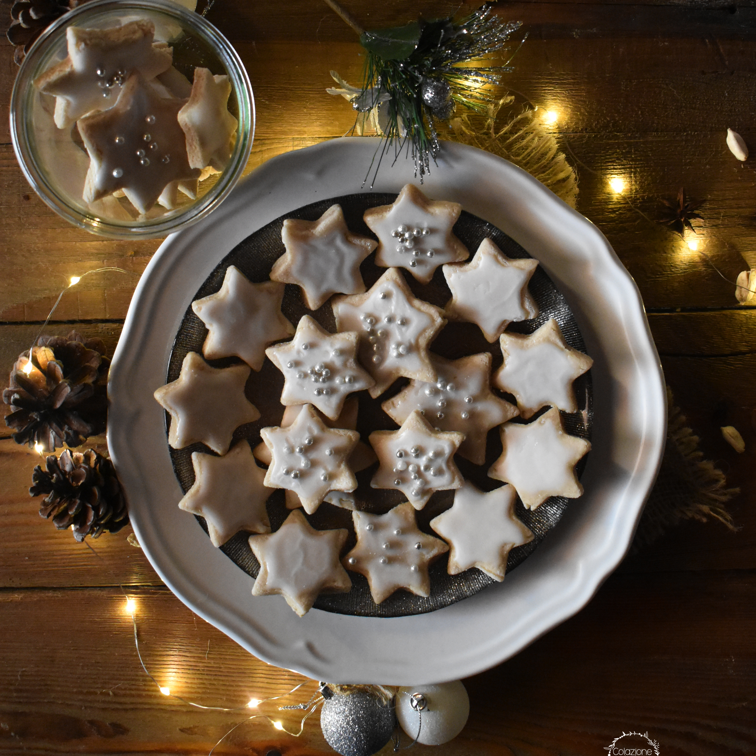 Biscotti Di Natale Zimtsterne.Stelline Di Marzapane Alla Cannella Zimtsterne Colazione Da Tizi