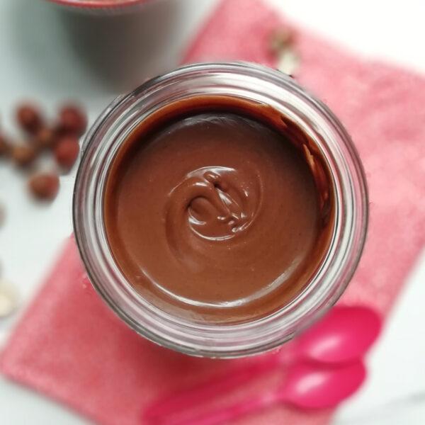 crema spalmabile nocciola e cioccolato