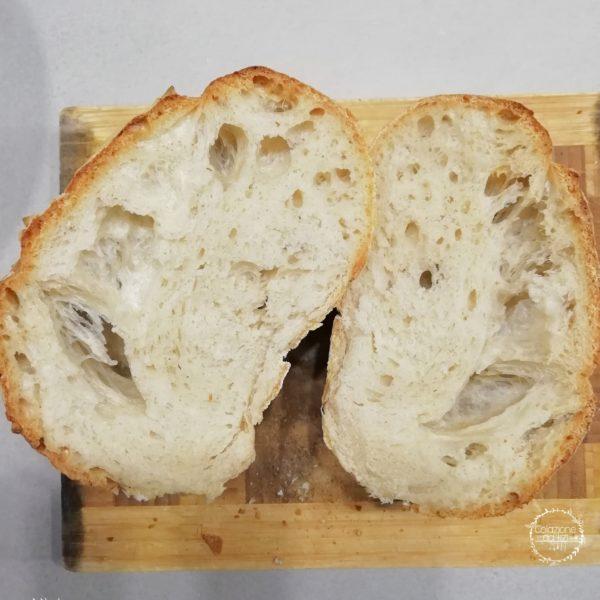 pane semplice con biga