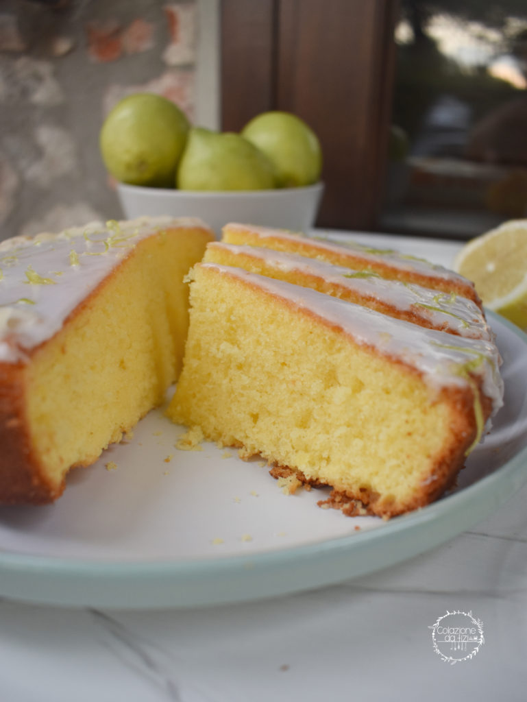 torta luna di limone fetta