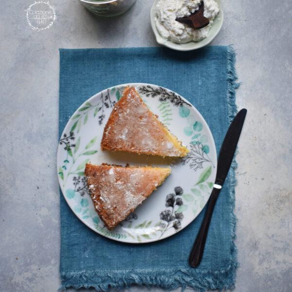 torta cremosa ricotta mele