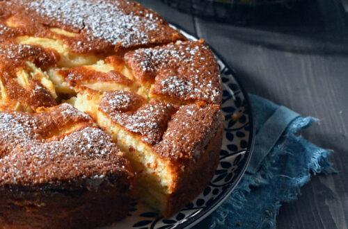 torta di mele leggera senza glutine