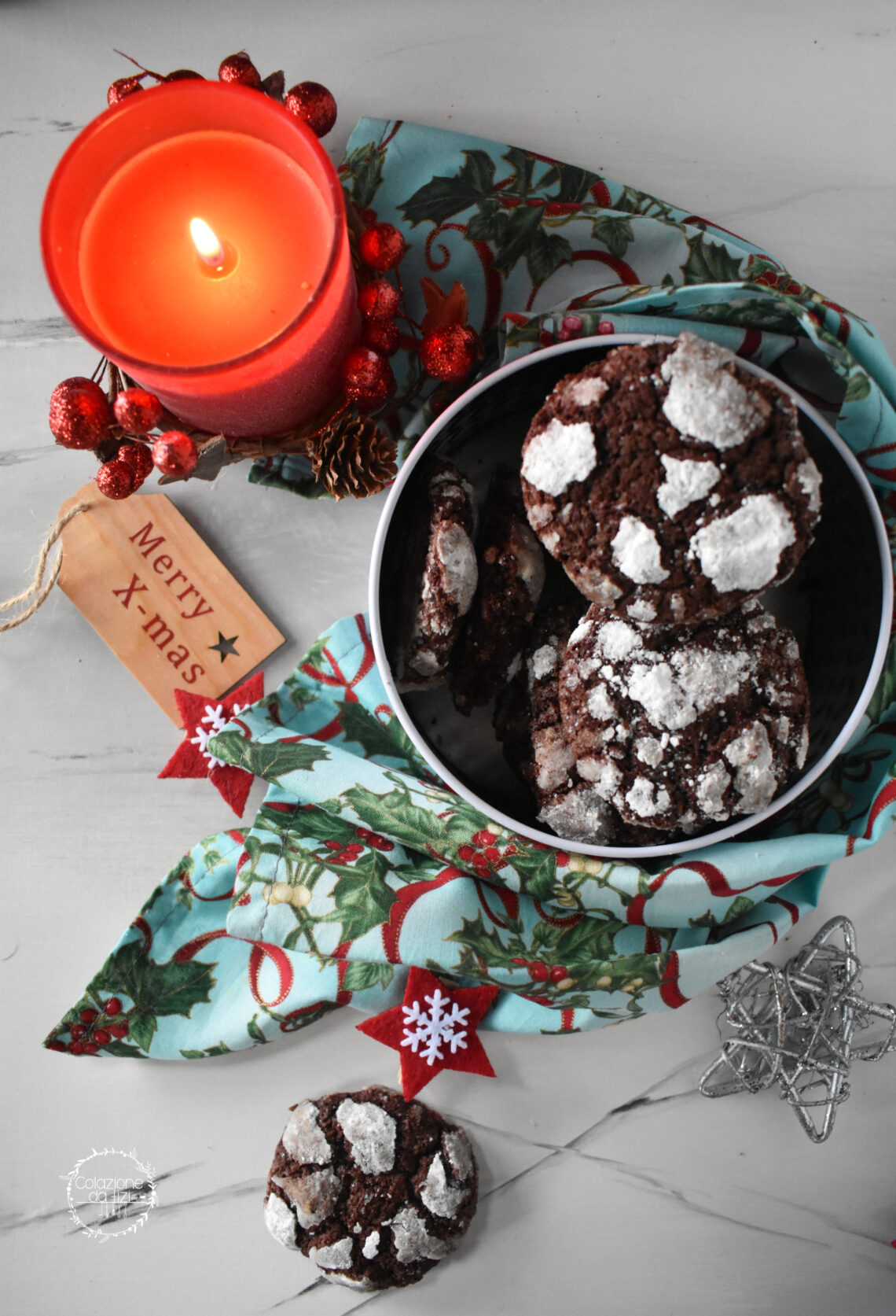 chocolate crinkle cookies martha stewart 1