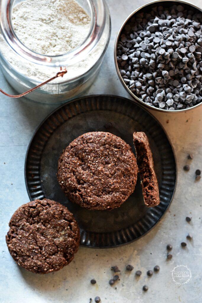 biscotti farro cioccolato