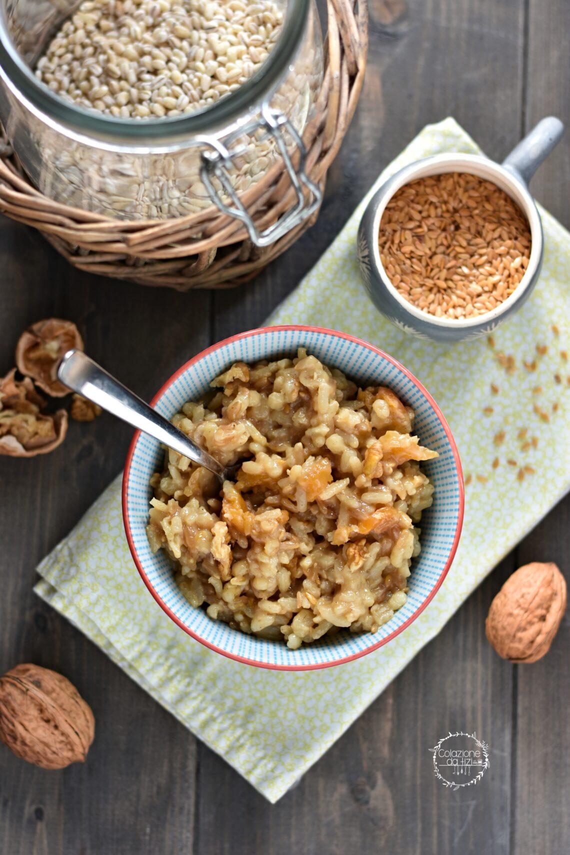 crema di cereali macrobiotica