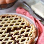 crostata classica marmellata