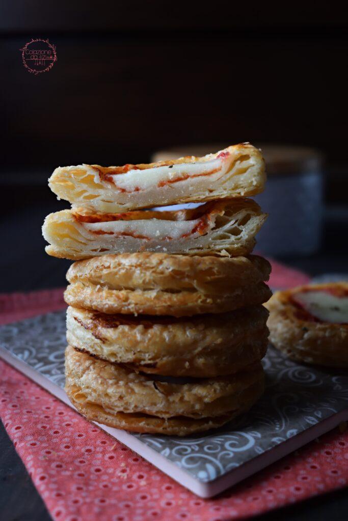 pizzette pasta sfoglia fatta in casa