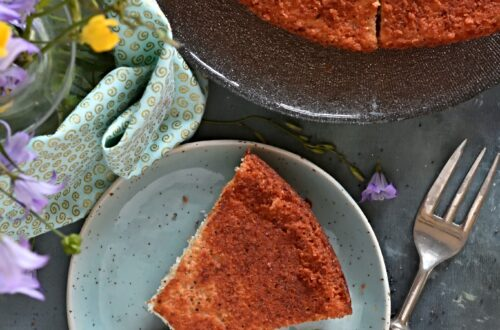 torta limone albumi semi papavero